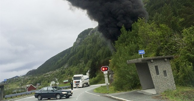 Norwegian tunnel may collapse after fuel truck explosions