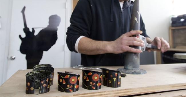 Spinning vinyl into art: Recycling records for novelties