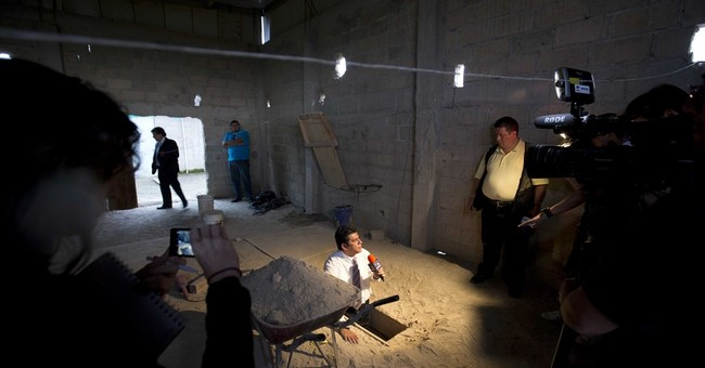 First-hand look shows audacity of drug lord's escape tunnel