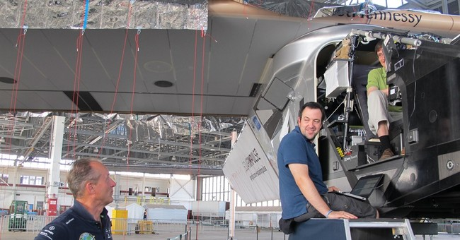 Solar plane pilots: Rapid climb, descent stressed batteries