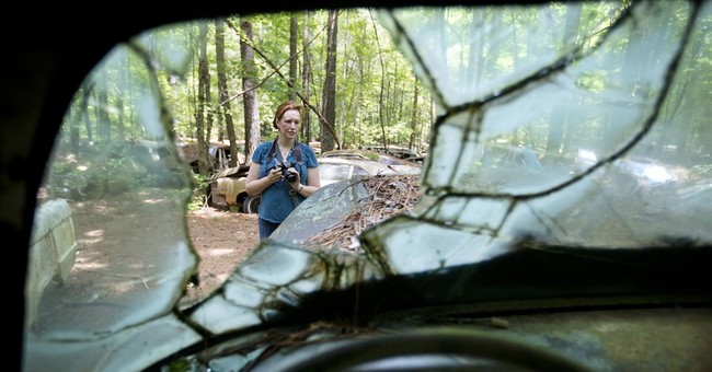 AP PHOTOS: In rural Georgia, a junkyard of classic cars