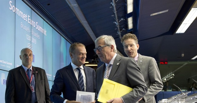 On the brink, EU leaders clinched bailout deal _ with an SMS