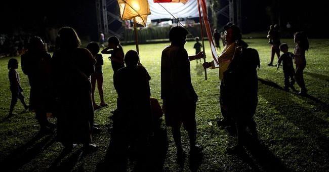 AP PHOTOS:  Indigenous festival in Peruvian rainforest
