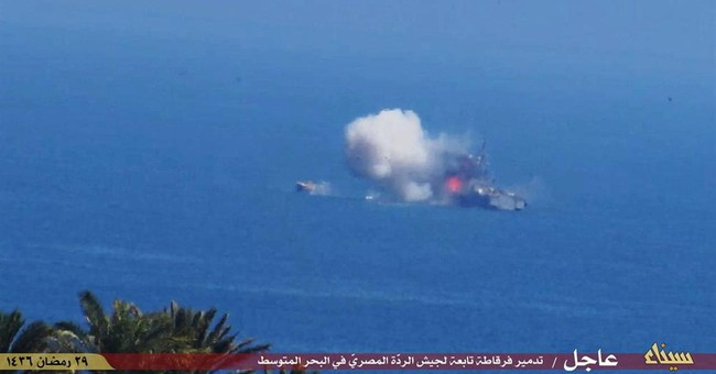 Egyptian navy vessel targeted by militants off Sinai's coast