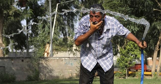 Iraqis brave searing heat in final days of Ramadan