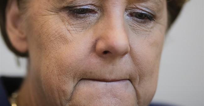 Refugee encounter highlights Merkel's complicated image