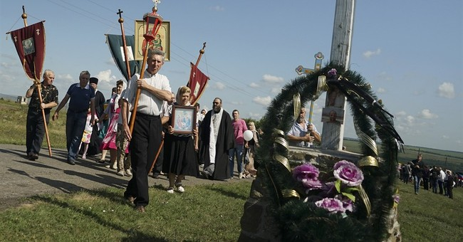 Dutch, Ukrainians, Australians mark year since MH17 downing