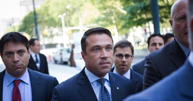 Ex-NY Congressman Grimm gets 8 months of prison in tax case