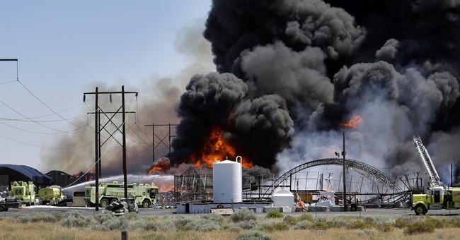 Fire, propane explosion damage Washington business