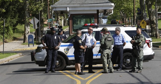 Photo of guns, possibly paintball, spurs brief alert in NY