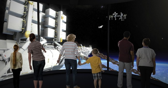 High-tech aerospace exhibit starts world tour at Smithsonian