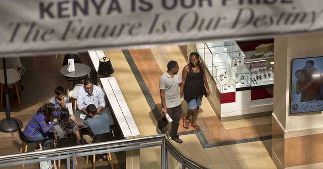 Shoppers return to Kenyan mall 2 years after attack