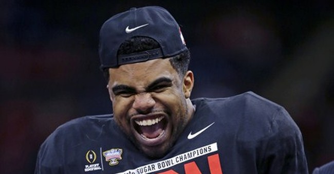 In Las Vegas books, college football title game is a big hit
