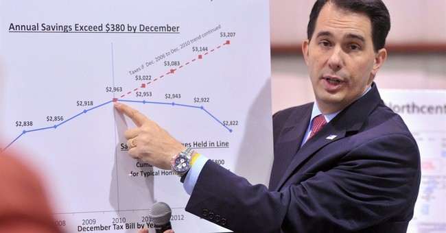 Wisconsin's Walker facing opposition in own party