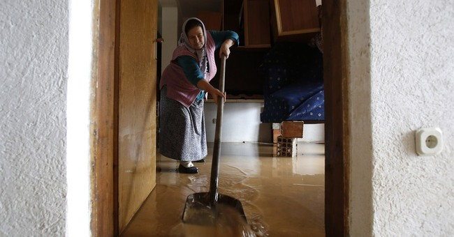Bosnian family home flooded 25 times since 2000
