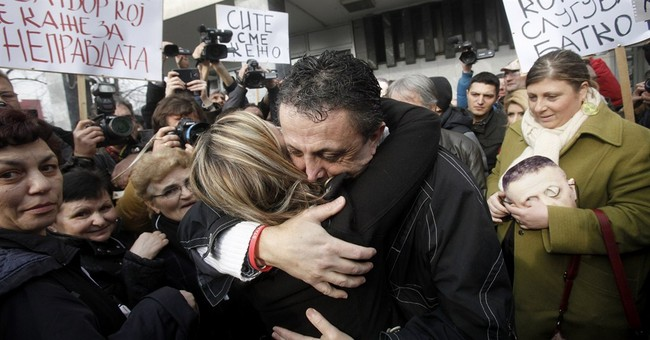 Jailed Macedonian journalist temporarily released
