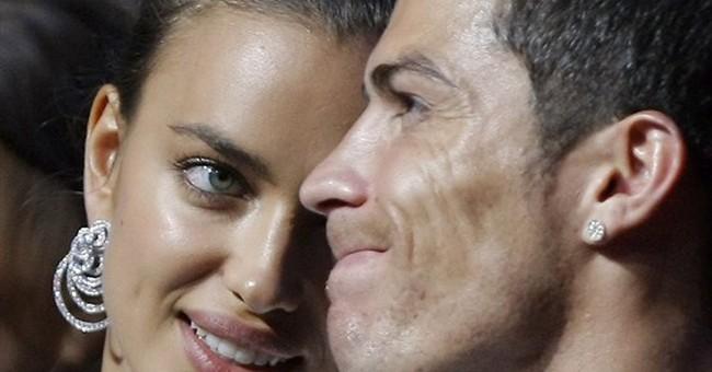 APNewsBreak: Ronaldo breaks up with girlfriend Irina Shayk