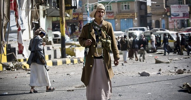 Shiite rebels shell Yemen president's home, take over palace
