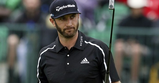 Report: Golfer Dustin Johnson says cocaine not his 'issue'