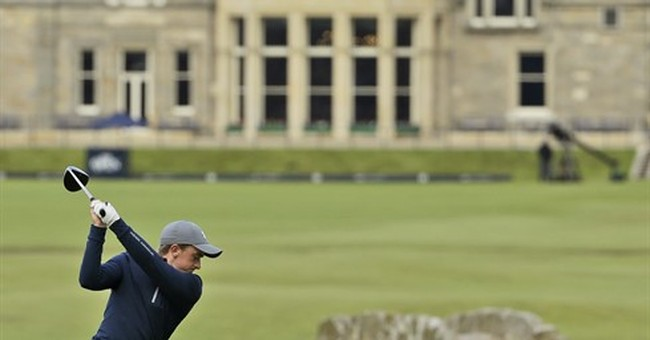 Spieth, amateur Dunne eyeing history at St. Andrews