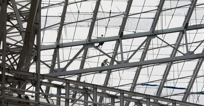 Innovative roof makes Minnesota stadium lighten up