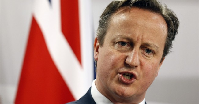 UK leader signals support for airstrikes on IS in Syria