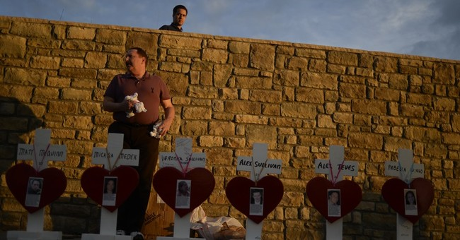 Crosses put up to honor Colorado theater shooting victims