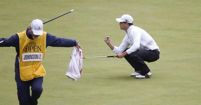 Johnson wins British Open, stops Spieth's bid for Grand Slam