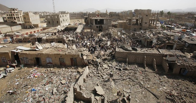 Death toll from Yemen rebel shelling doubles to nearly 100