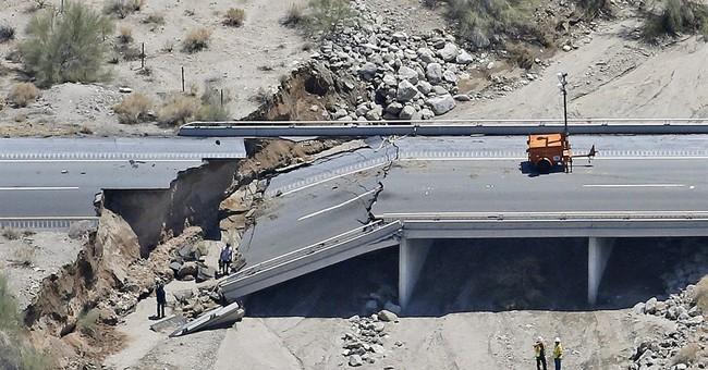 California bridge passed inspection, failed in flash flood