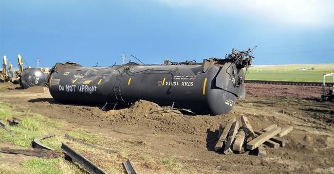 Officials: Oil train didn't speed before Montana derailment