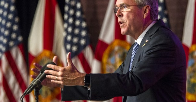 Florida's Jeb Bush vows to cut spending, Washington lobbying