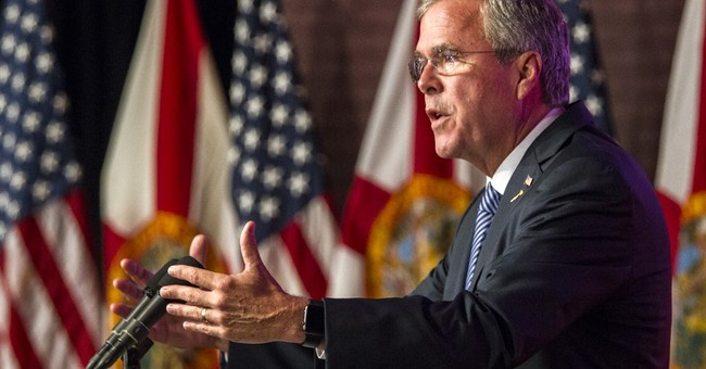 Florida's Jeb Bush vows to cut spending, Washington lobbying