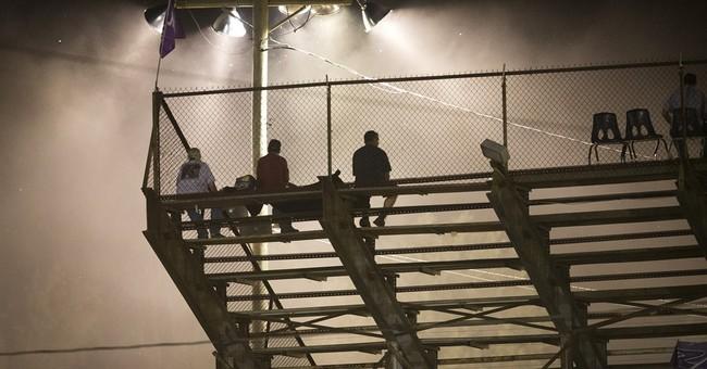 AP PHOTOS: Dirt track racing at the Ponderosa Speedway