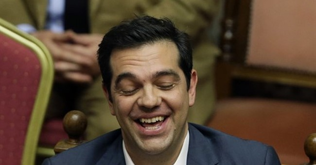 Greece's Tsipras stays popular despite bailout hardship