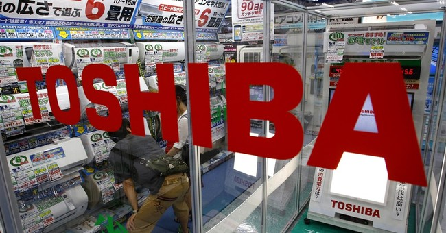 CEO of Japan's Toshiba resigns over doctored books