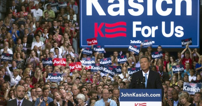Ohio Gov. Kasich brings the Republican field to 16
