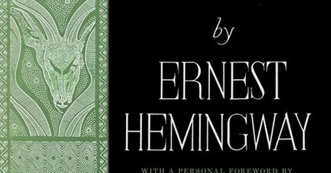 Ernest Hemingway's 'Green Hills of Africa' reissued