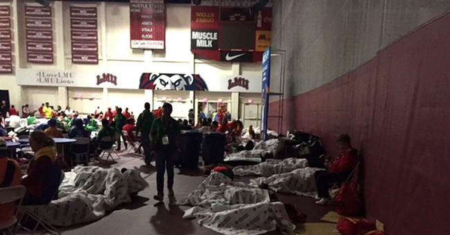 Some Special Olympics athletes forced to sleep on gym floor