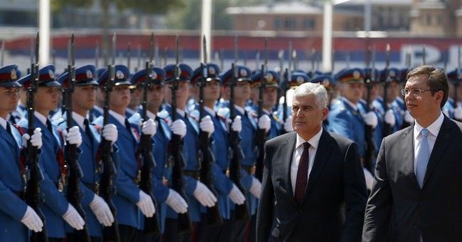 Serbia, Bosnia leaders pledge to boost fragile post-war ties