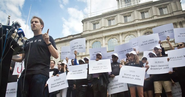 NYC strikes Uber deal: No cap on company during study