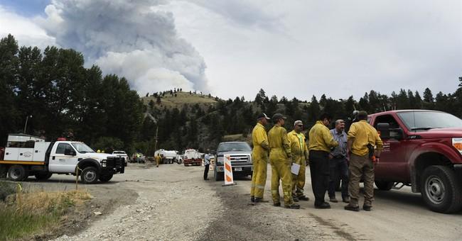 Wildfire closes popular Glacier Park roadway