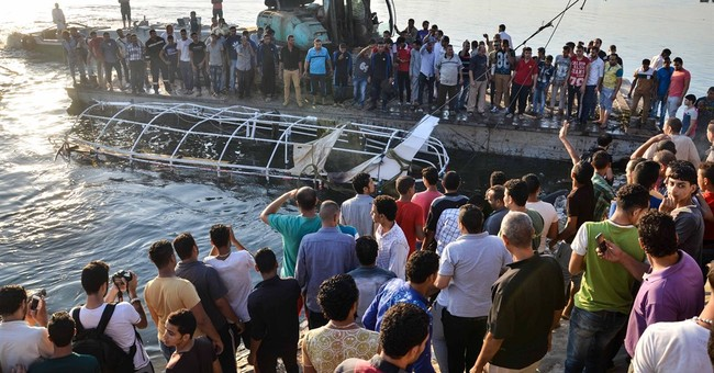 Egypt death toll rises to 18 in Nile collision; 2 detained