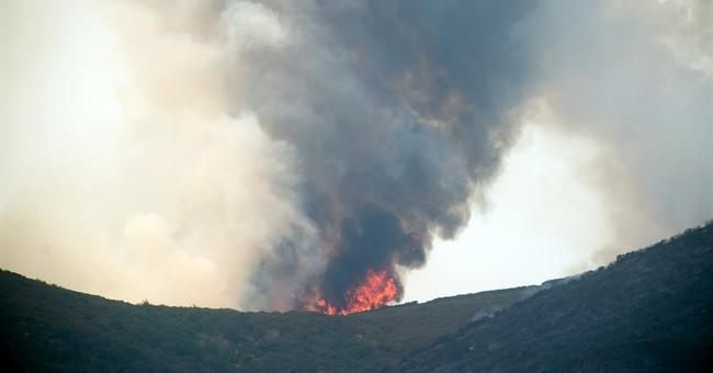 Tourists worried about fire nix Glacier National Park trips