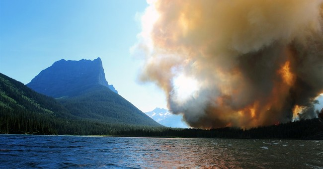 Tourists worried about fire nix Glacier National Park trips