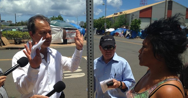 Hawaii lawmaker to press charges for attack in homeless camp