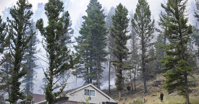 Cold front headed toward Glacier park fire zone