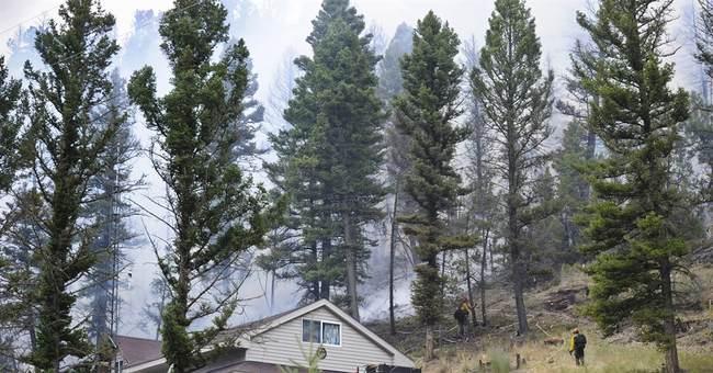 Cold front headed toward Glacier park fire zone