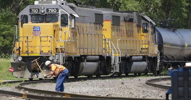 Union Pacific's 2Q profit falls 7 percent as volume declines