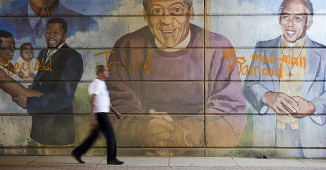 Cosby mural removed amid details of sex, drugging claims